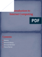Intro Ppt Internet Computing