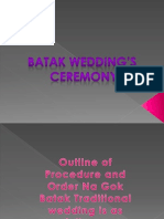 Batak Wedding Ceremony