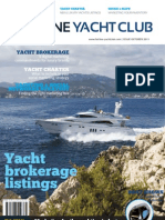 Fairline Yacht Club magazine - Yacht Brokerage Yacht Charter - October 2011 issue