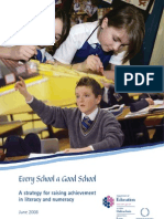 Literacy and Numeracy Strategy - English