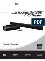 Surround Bar 360 Manual