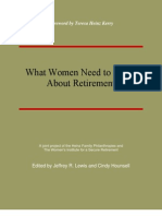 What Women Need to Know About Retirement