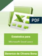 Apostisla de Estátistica usando Excel 2007