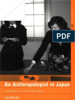 An Anthropologist in Japan - Glimpses of Life in the Field