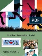 Perubahan Sosial dan Cara Berpikir
