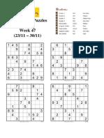 Conceptis Puzzles 2007 - week 48