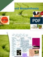 Natural Product Chemistry - Flavonoid Biosynthesis - Nila Huda