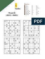 Conceptis Puzzles 2008 - week 01
