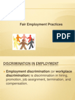Fair Employment Practices