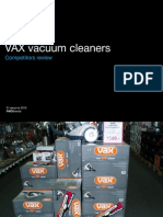 Vacuum Cleaners Market Review & Advertising Proposal