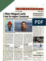 Marc Muguet Surfe Sur La Vague Cousteau