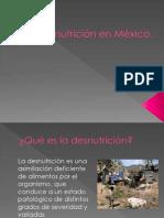 Desnutrición en México