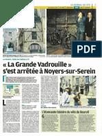Sur les traces de la Grande Vadrouille - Le Parisien - 14 juillet 2011