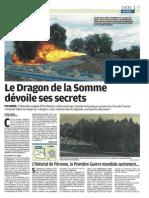 Le Dragon de La Somme - Le Parisien - 3 juillet 2011