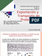 Exportación y Transporte de Proteinas