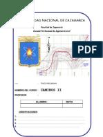 Informe 2 (Estudio Preliminar)- Caminos II-UNC