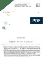 Plan Anual Ciencias II 2008-2009