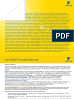 Aviva 2011 Non GAAP Financial Measures Sept 2011 US