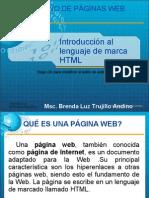 Unidad 1, Clase No. 1 Introducción al lenguaje HTML