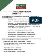 TRATAMIENTO DIABETES NATURA