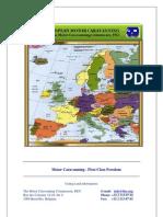 EUROPEAN Motor-Caravanning Handbook