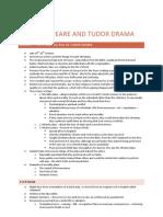 Shakespeare and Tudor Drama