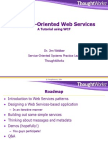 Message Oriented Web Services