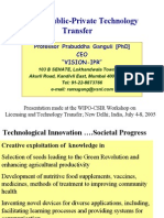 Technology Transfer Ganguli