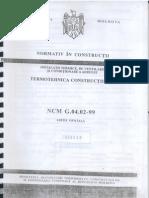 NCM G.04.02-99 Termotehnica Constructiilor