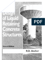 Design of Liquid Retaining Concrete Structures-RD Anchor