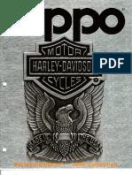 1999 Harley Davidson Zippo Catalog