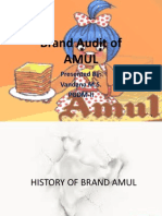 Amul Brand Audit