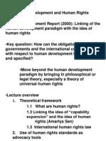Human Rights and Human Development, Polly Vizard