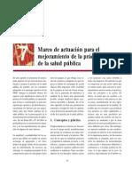 07 - Marco de actuación para el mejoramiento de la práctica de la SP