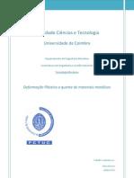 Deform. Plastica quente - Tânia Oliveira