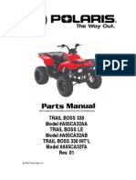 polaris atv service manual repair 1985-1995 all models | transmission  (mechanics) | suspension (vehicle)