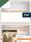 Final Job Analysis and Design