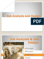 Final Job Analysis and Design