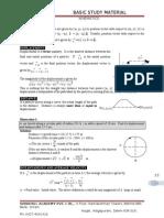 Basic Study Material - Kinematics