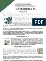 01 Mantenimiento Del PC