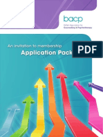 Bacp Application Pack