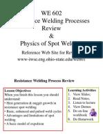 2a1 Physics Spot Weld
