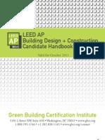 LEED AP BD+C Candidate Handbook[1]