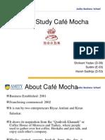 Cafe Mocha Final