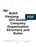 BP Guides organisation structure and rules