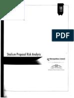 Met Council Stadium Proposal Risk Analysis 10-13-11
