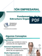4 Fundamentos de La Estructura Organizacional (1)