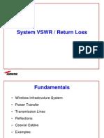 System VSWR