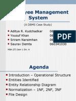ERD_Employee Management System