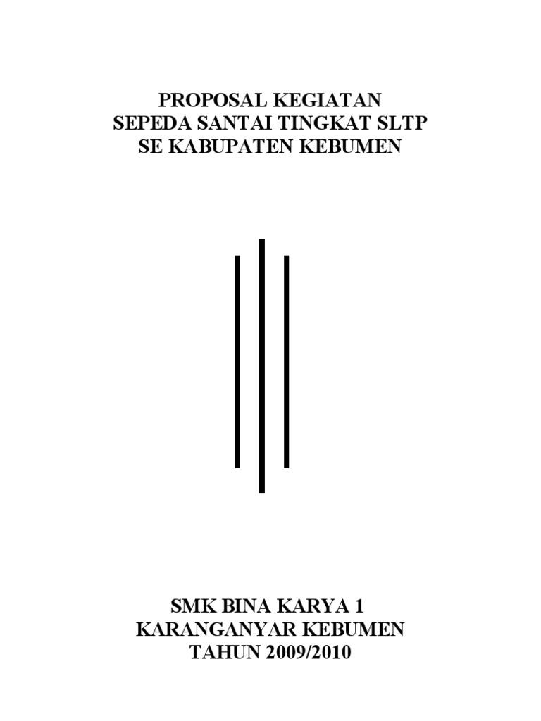 Proposal Sepeda Santai